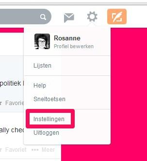 Twitter op je WordPress website - instellingen