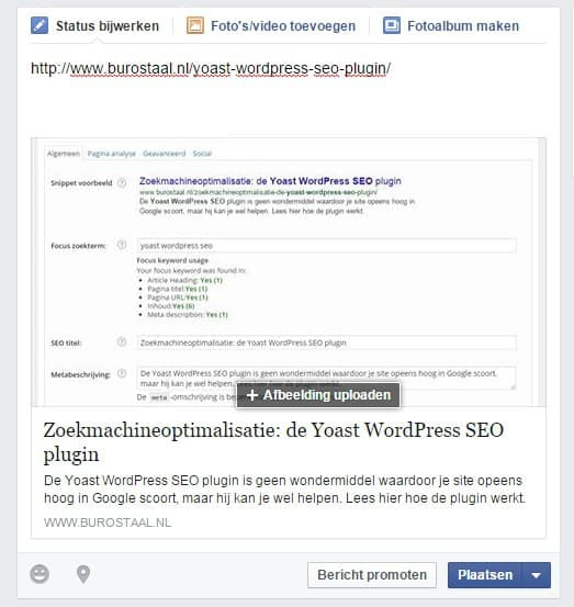 Facebook-URL-voor