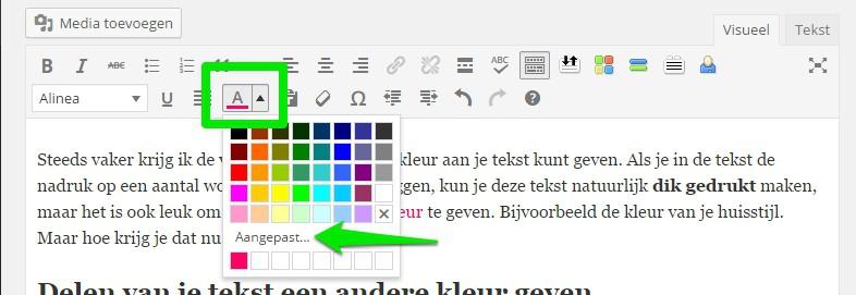 WordPress-tekstkleur-aanpassen