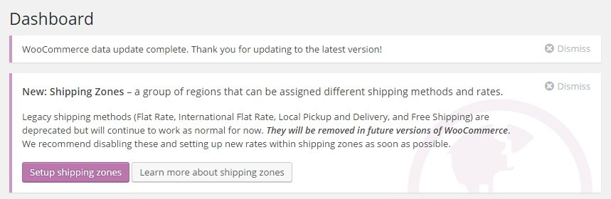Setup shipping zones