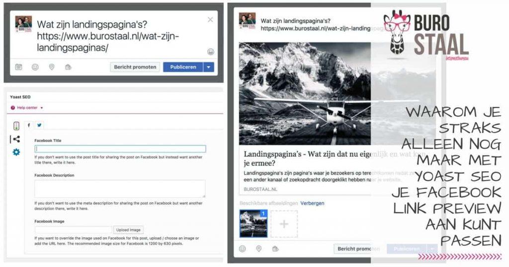 Facebook link preview WordPress