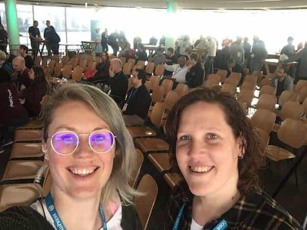 WordCamp Rotterdam vrouw