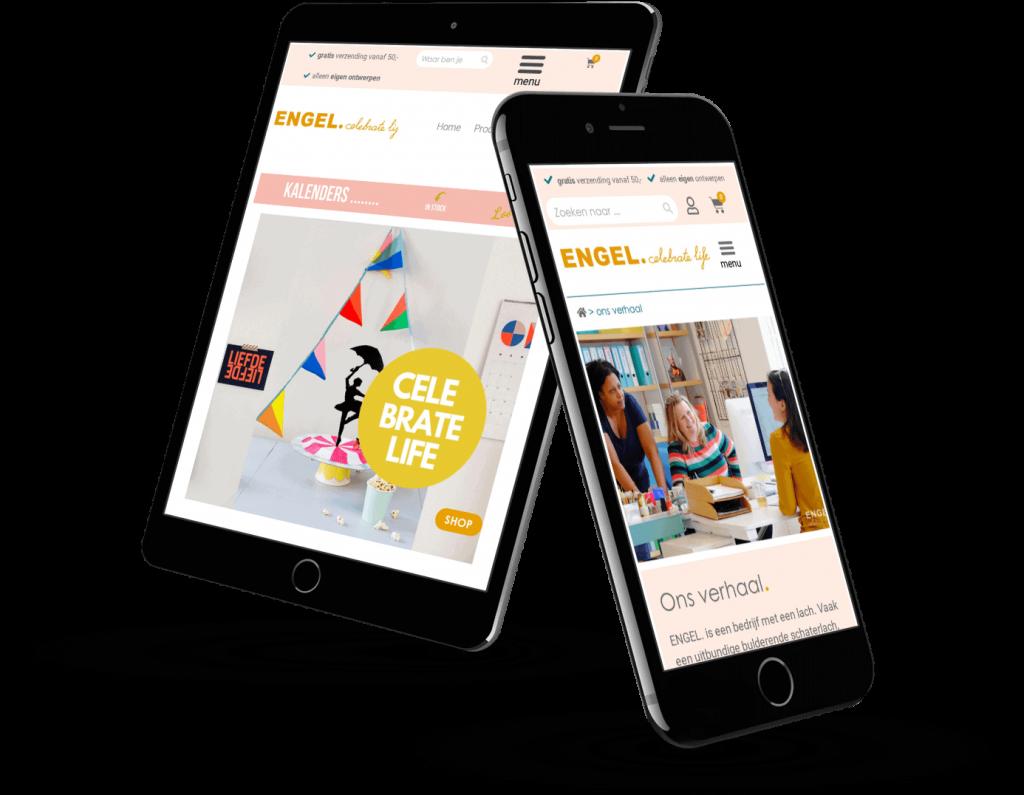 ENGEL webshop op mutiple devices