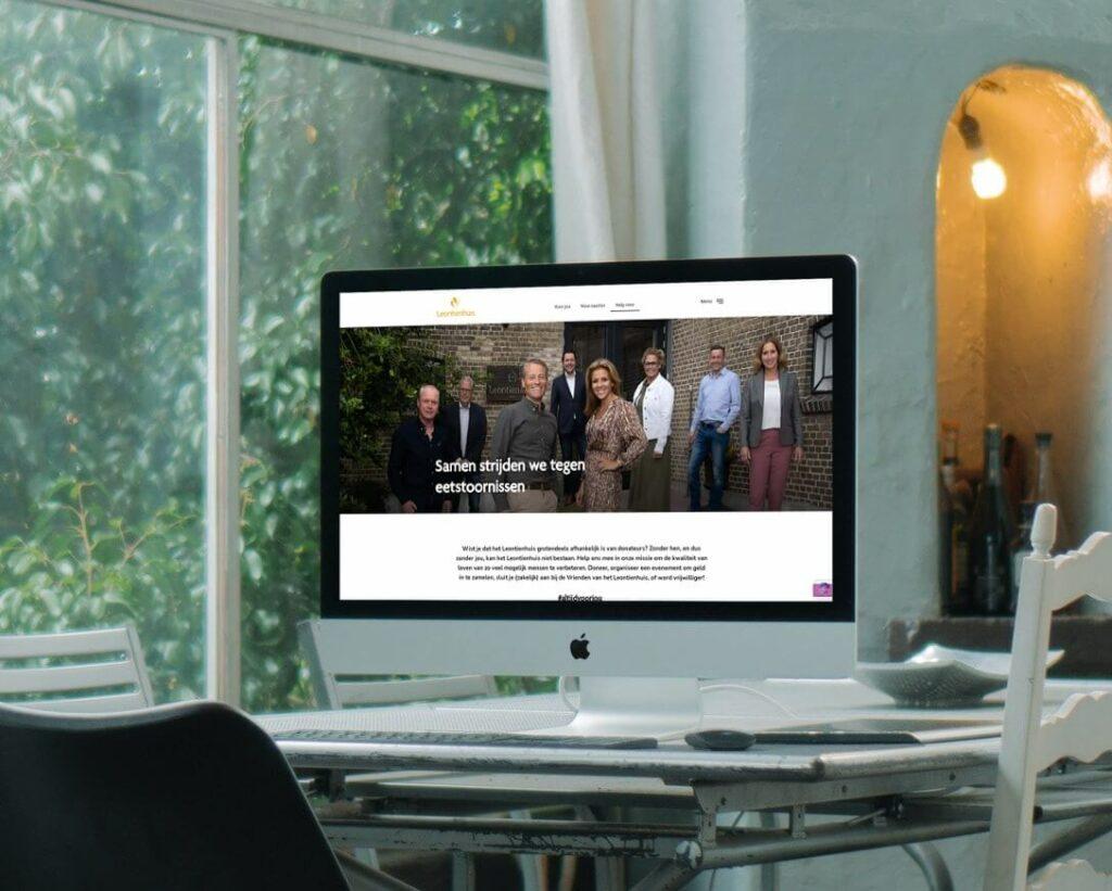 Website Leontienhuis