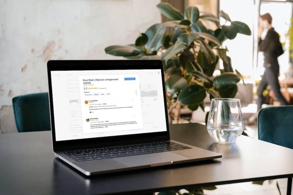 Google reviews Buro Staal